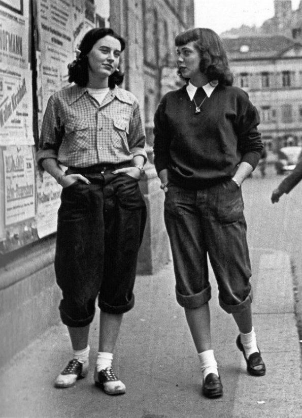 Key 1950s Style : Teddy Girls