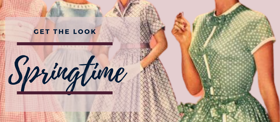 Get the look: Vintage Spring Style